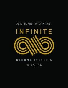 [DVD] 2012 INFINITE CONCERT SECOND INVASION in JAPAN