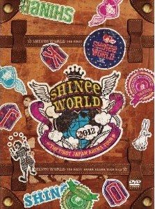"[DVD] SHINee THE FIRST JAPAN ARENA TOUR ""SHINee WORLD 2012"