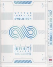 [DVD] 2012 INFINITE CONCERT SECOND INVASION: EVOLUTION