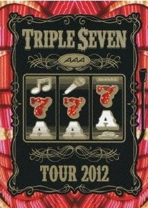 [DVD] AAA TOUR 2012 -777- TRIPLE SEVEN