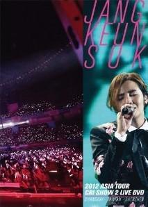 [DVD] JANG KEUN SUK 2012 ASIA TOUR LIVE DVD