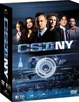 CSI:NY  シーズン1 コンプリートDVD BOX 1+2