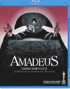 Blu-ray アマデウス ディレクターズカット