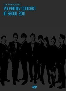 [DVD] 15th ANNIVERSARY YG FAMILY CONCERT in SEOUL 2011