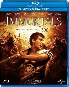 [Blu-ray] インモータルズ -神々の戦い-
