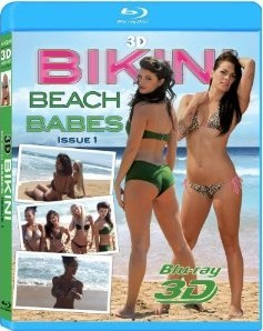 [3D Blu-ray] Bikini Beach Babes Issue #1+2