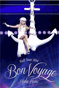 [DVD] Koda Kumi Hall Tour 2014~Bon Voyage~