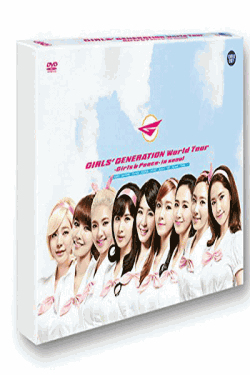 [DVD] 少女時代 GIRLS'GENERATION WORLD TOUR / GIRLS & PEACE IN SEOUL