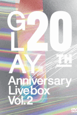 [DVD] GLAY 20th Anniversary LIVE BOX VOL.2