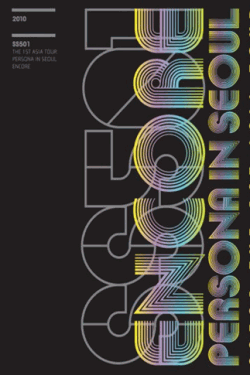 [DVD] SS501 1st ASIA TOUR PERSONA IN SEOUL ENCORE CONCERT